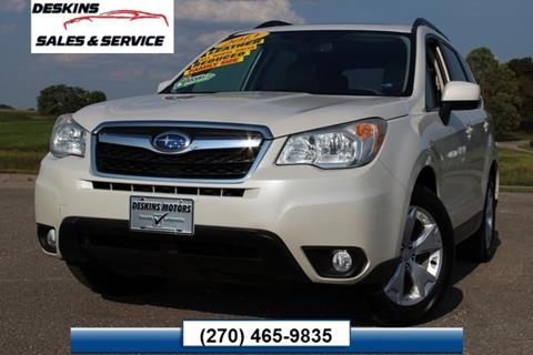 2014 Subaru Forester for sale in Campbellsville, KY