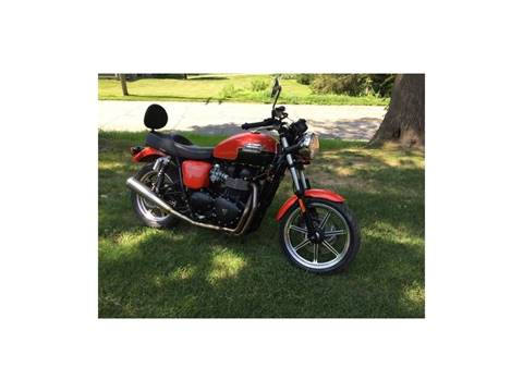 2013 Triumph Bonneville for sale in Cornwall Bridge, CT