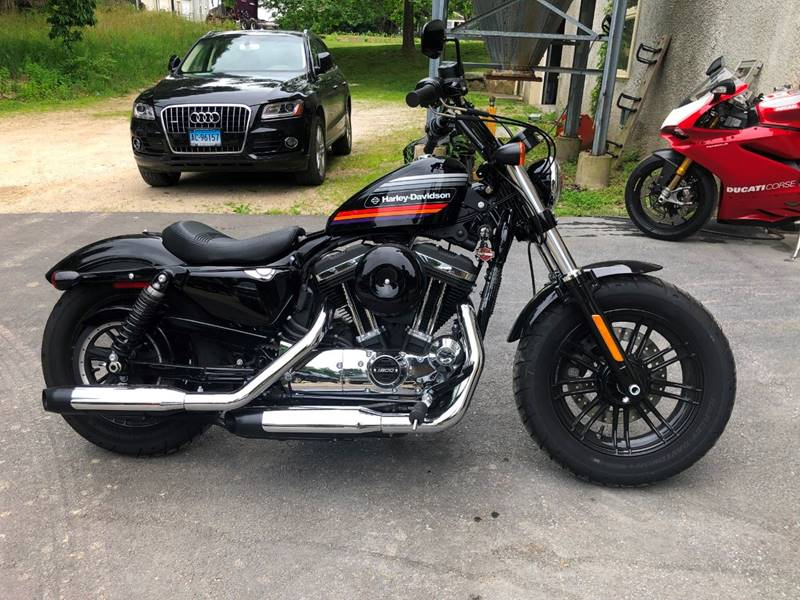 2018 Harley-Davidson Forty Eight XL 1200 X for sale at Kent Road Motorsports in Cornwall Bridge CT