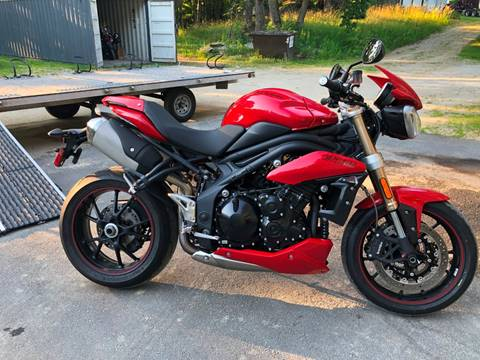 2015 Triumph Speed Triple for sale at Kent Road Motorsports in Cornwall Bridge CT
