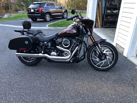 2018 Harley-Davidson Sport Glide FLSB for sale at Kent Road Motorsports in Cornwall Bridge CT
