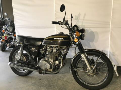 1973 Honda CB 450 for sale at Kent Road Motorsports in Cornwall Bridge CT