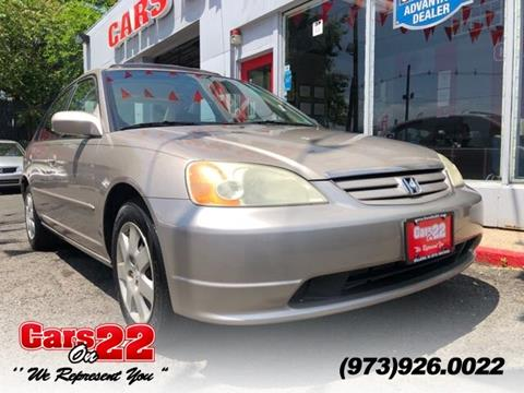 2002 Honda Civic for sale in Hillside, NJ
