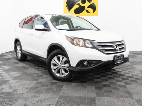 2012 Honda CR-V for sale at Carousel Auto Group in Iowa City IA