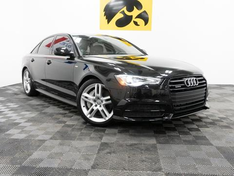 2016 Audi A6 for sale at Carousel Auto Group in Iowa City IA