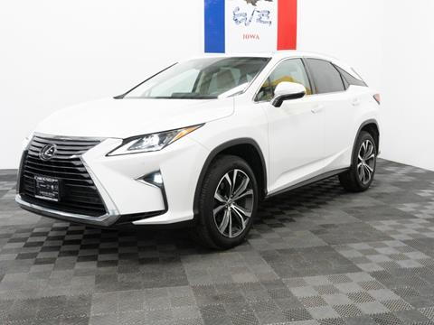 2017 Lexus RX 350 for sale at Carousel Auto Group in Iowa City IA