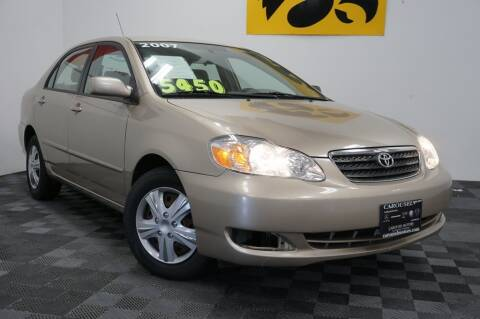 2007 Toyota Corolla for sale at Carousel Auto Group in Iowa City IA