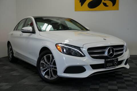 2017 Mercedes-Benz C-Class for sale at Carousel Auto Group in Iowa City IA