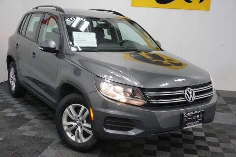 2016 Volkswagen Tiguan for sale at Carousel Auto Group in Iowa City IA