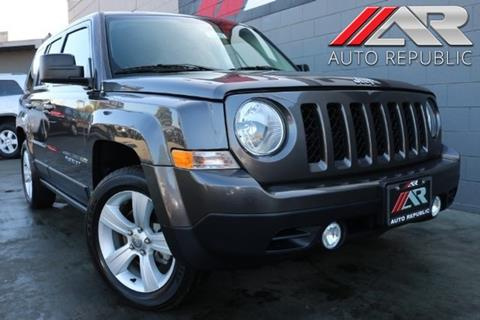 2016 Jeep Patriot for sale in Cypress, CA