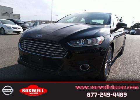 2016 Ford Fusion for sale in Roswell, NM