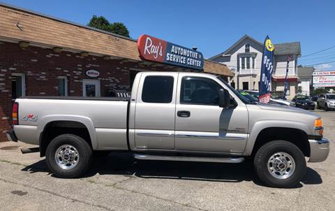 2004 GMC Sierra 2500HD for sale in Lowell, MA