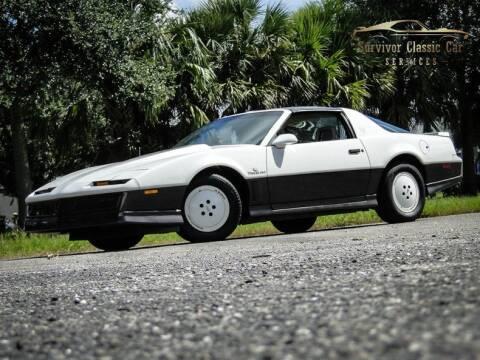 1983 Pontiac Firebird for sale at SURVIVOR CLASSIC CAR SERVICES in Palmetto FL