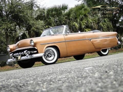 1954 Ford Sunliner for sale at SURVIVOR CLASSIC CAR SERVICES in Palmetto FL
