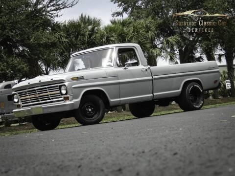 1969 Ford F-100 for sale at SURVIVOR CLASSIC CAR SERVICES in Palmetto FL