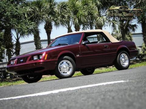 1984 Ford Mustang for sale at SURVIVOR CLASSIC CAR SERVICES in Palmetto FL