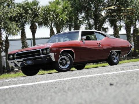 1969 Buick Gran Sport for sale at SURVIVOR CLASSIC CAR SERVICES in Palmetto FL