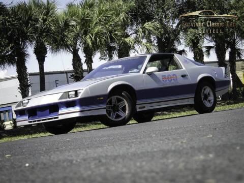 1982 Chevrolet Camaro for sale at SURVIVOR CLASSIC CAR SERVICES in Palmetto FL
