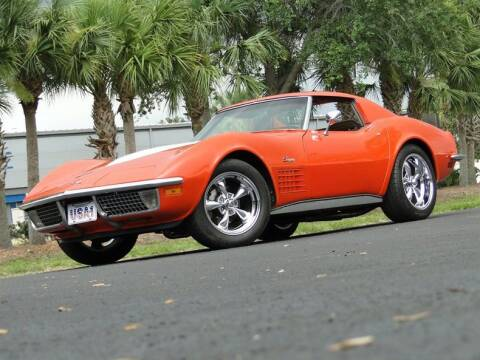 1971 Chevrolet Corvette for sale at SURVIVOR CLASSIC CAR SERVICES in Palmetto FL