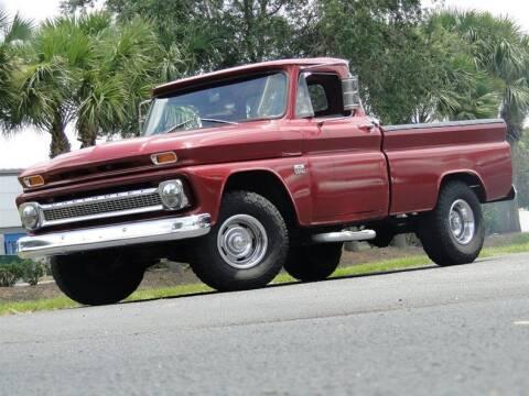 1966 Chevrolet C/K 10 Series for sale at SURVIVOR CLASSIC CAR SERVICES in Palmetto FL