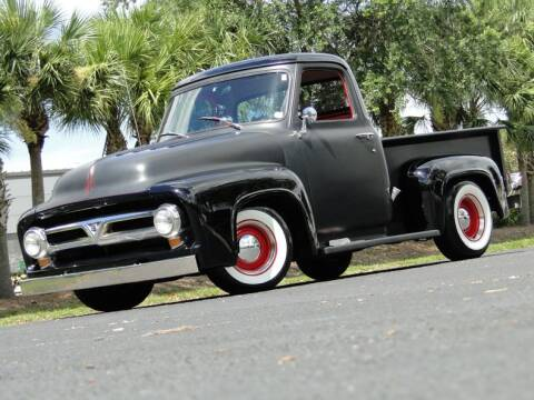 1953 Ford F-100 for sale at SURVIVOR CLASSIC CAR SERVICES in Palmetto FL