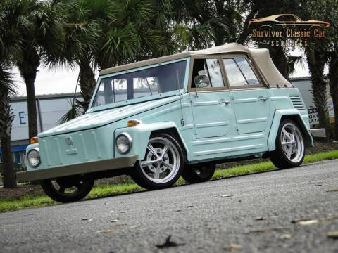 1973 Volkswagen Thing for sale at SURVIVOR CLASSIC CAR SERVICES in Palmetto FL