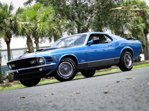 1970 Ford Mustang for sale at SURVIVOR CLASSIC CAR SERVICES in Palmetto FL