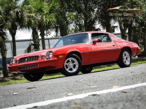 1979 Chevrolet Camaro for sale at SURVIVOR CLASSIC CAR SERVICES in Palmetto FL