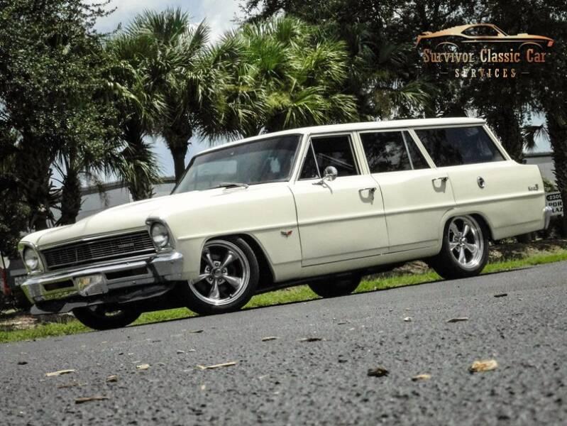 1966 Chevrolet Nova for sale at SURVIVOR CLASSIC CAR SERVICES in Palmetto FL