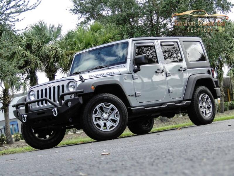 2016 Jeep Wrangler Unlimited for sale at SURVIVOR CLASSIC CAR SERVICES in Palmetto FL