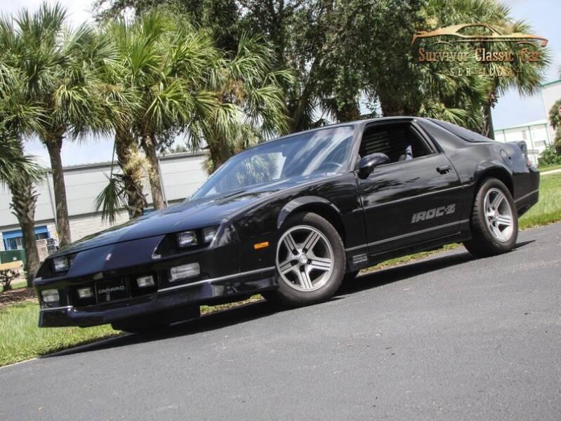 1990 Chevrolet Camaro for sale at SURVIVOR CLASSIC CAR SERVICES in Palmetto FL