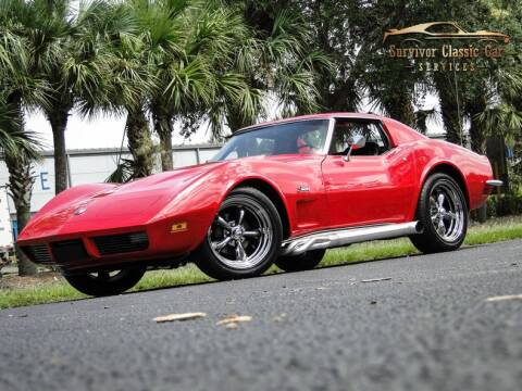 1973 Chevrolet Corvette for sale at SURVIVOR CLASSIC CAR SERVICES in Palmetto FL