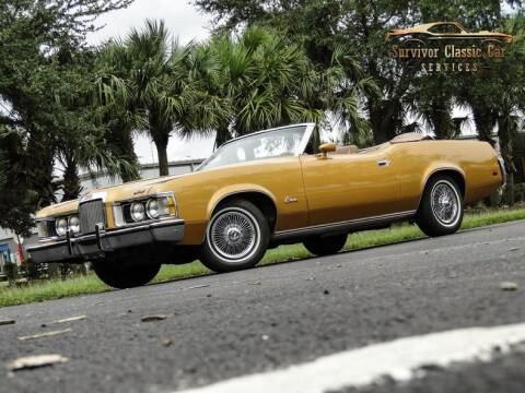 1973 Mercury Cougar for sale at SURVIVOR CLASSIC CAR SERVICES in Palmetto FL