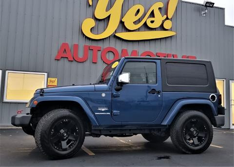 2010 Jeep Wrangler for sale in Bluffton, IN
