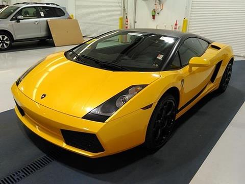 Used Lamborghini Gallardo For Sale In Raleigh Nc Carsforsale Com
