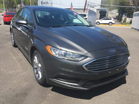 2017 Ford Fusion Hybrid for sale in Roslyn Heights, NY