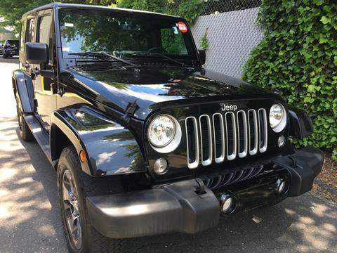 2016 Jeep Wrangler Unlimited for sale in Roslyn Heights, NY