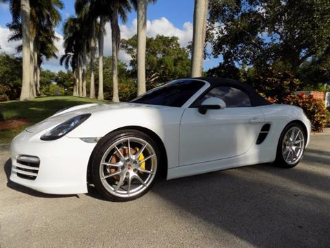 2013 Porsche Boxster for sale in Hollywood, FL