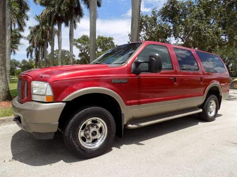 2003 Ford Excursion for sale in Hollywood, FL