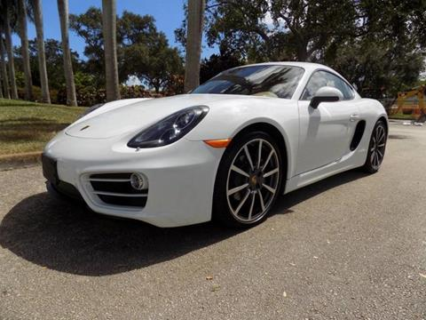 2014 Porsche Cayman for sale in Hollywood, FL