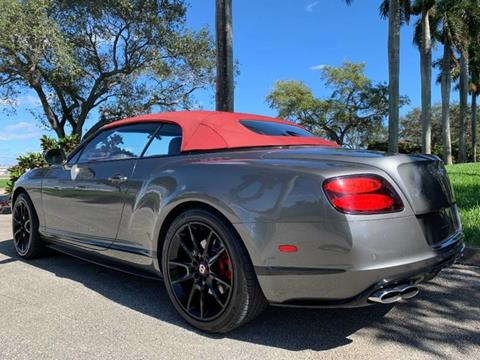 2015 Bentley Continental for sale in Hollywood, FL