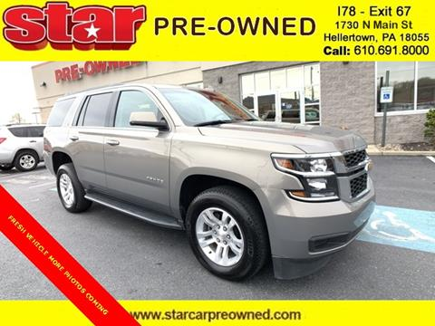 2018 Chevrolet Tahoe for sale in Hellertown, PA