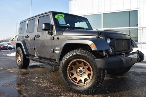 2016 Jeep Wrangler Unlimited for sale in Highland Park, IL