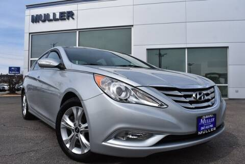 2013 Hyundai Sonata Limited for sale at Muller Subaru Volkswagen in Highland Park IL
