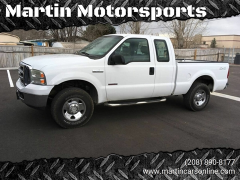 2006 Ford F-250 Super Duty for sale at Martin Motorsports in Star ID