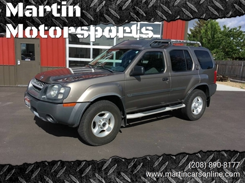 2003 Nissan Xterra for sale at Martin Motorsports in Star ID