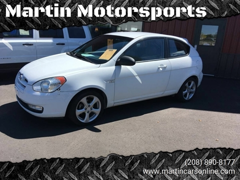 2007 Hyundai Accent for sale at Martin Motorsports in Star ID
