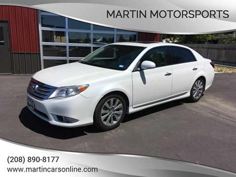 2011 Toyota Avalon for sale at Martin Motorsports in Star ID