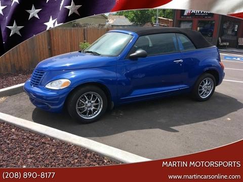 2005 Chrysler PT Cruiser for sale at Martin Motorsports in Star ID