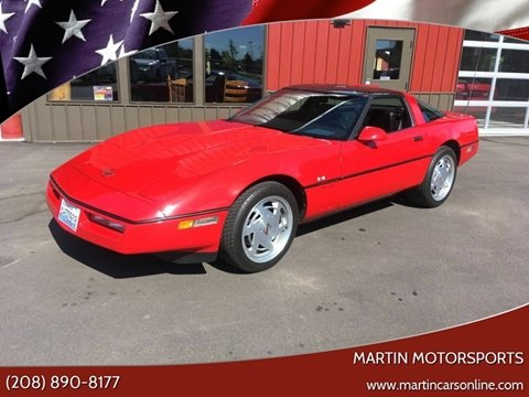 1988 Chevrolet Corvette for sale at Martin Motorsports in Star ID